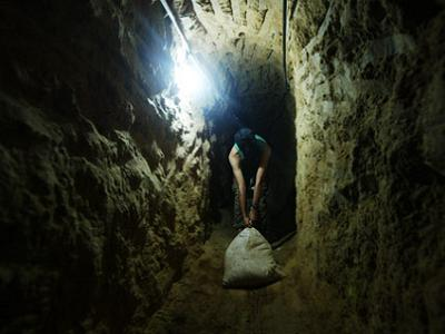 Tunnels are seen as a lifeline for Gazans under siege.