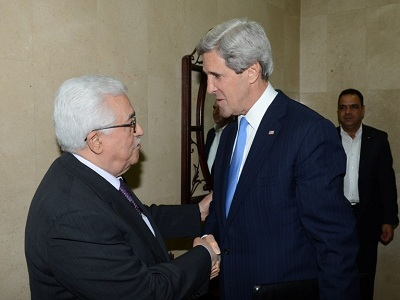 Palestinian officials say Kerry proposed two small changes to make API more palatable to Israel. (Photo: WAFA)