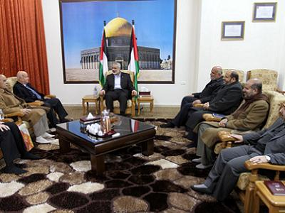 'Hamas itself has been willing to negotiate right from the beginning.' (Photo: Via Aljazeera)